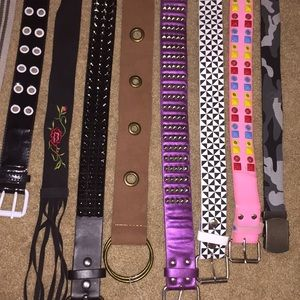 Accessories - ~BELTS~ 3 for $10!